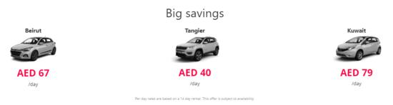 Air Arabia Cars