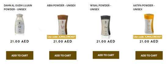 Ajmal Perfumes Deals