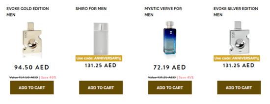 Ajmal Perfumes Men
