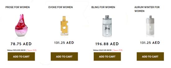Ajmal Perfumes Women