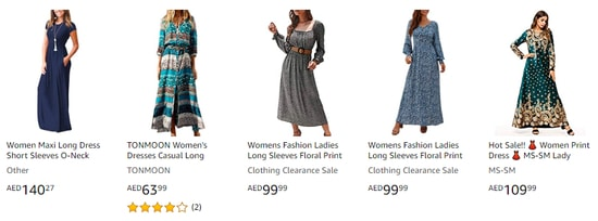 Amazon Fashion Code