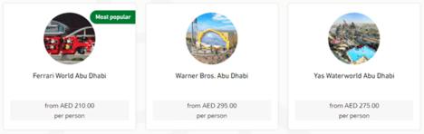 Arabian Adventures Attraction
