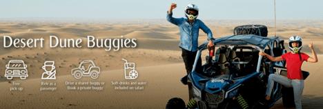 Arabian Adventures Dune Buggies