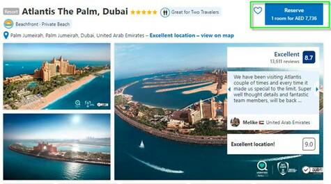 Atlantis Booking
