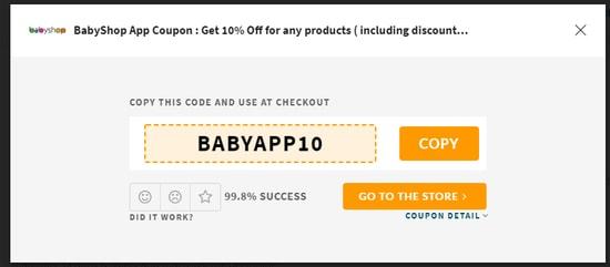 BabyShop Codes