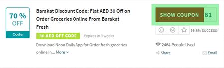 Barakat Fresh Code