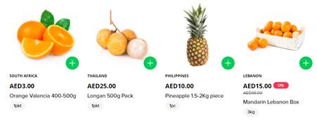 Barakat Fresh Fruits