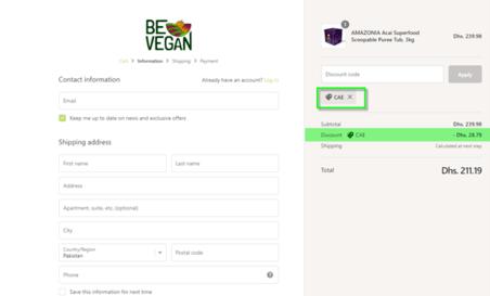 Be Vegan Discount