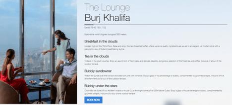 Burj Khalifa Lounge