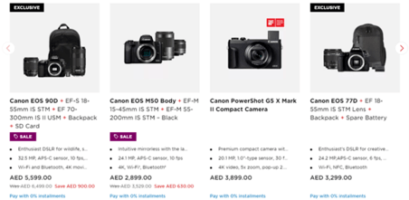 Canon Camers