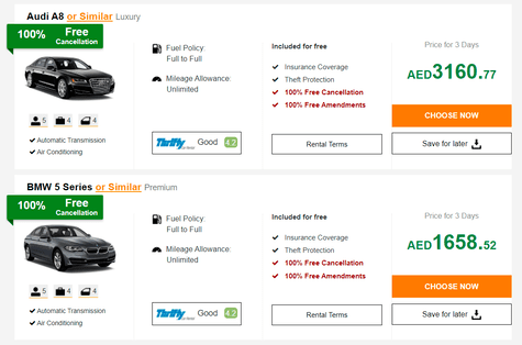 Carsirent Offers