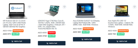 Cartlow Laptops