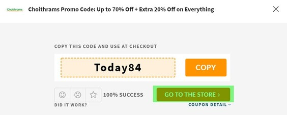 Choithrams Coupon