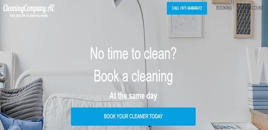 CleaningCompany Website