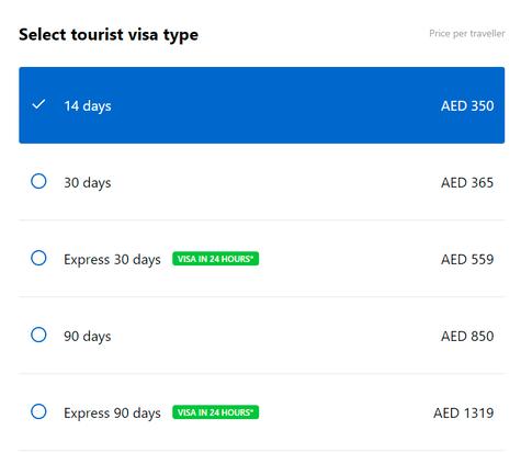 Cleartrip UAE Visa