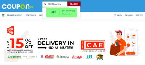 800 Pharmacy Coupon.ae