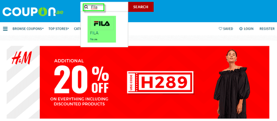 FILA Coupon.ae