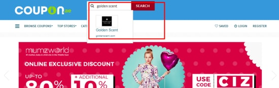 Golden Scent Coupon.ae