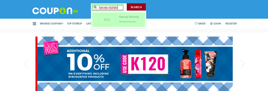 Harvey Nichols Coupon.ae