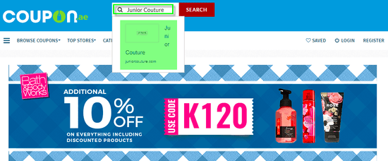 Junior Couture coupon.ae