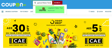 Legoland Water Park Coupon.ae