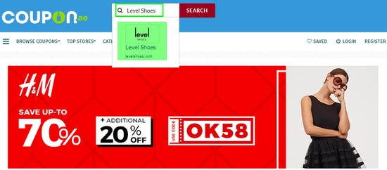 Level Shoes Coupon.ae