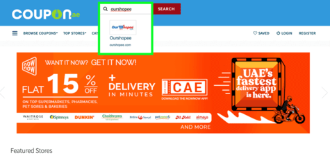OurShopee Coupon.ae
