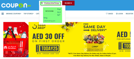PrettyLittleThing Coupon.ae