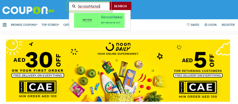 ServiceMarket Coupon.ae