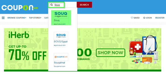 Souq Coupon.ae