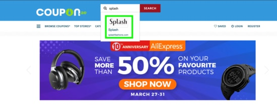 Splash Coupon.ae