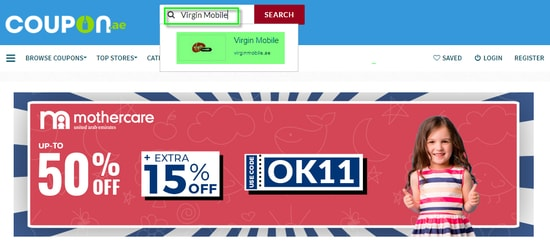 Virgin Mobile Coupon.ae