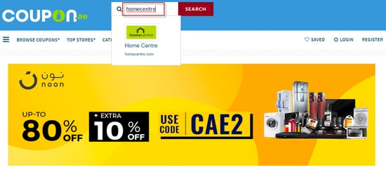 Homecentre Coupon.ae