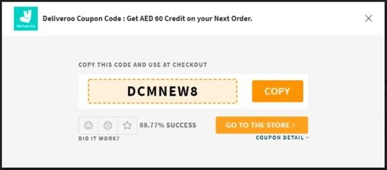 Deliveroo Code