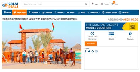 Desert Safri Great Deals
