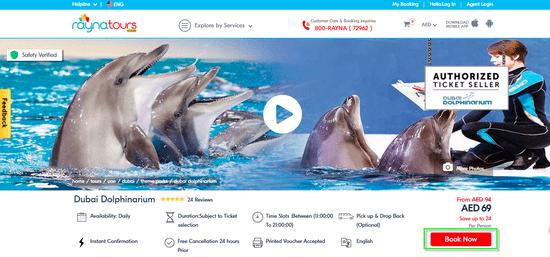 Dolphinarium Cart