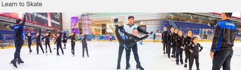 Dubai Ice Rink Learn
