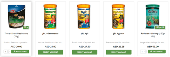 Dubai Pet Food Offers