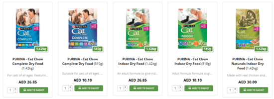 Dubai Pet Food Cat