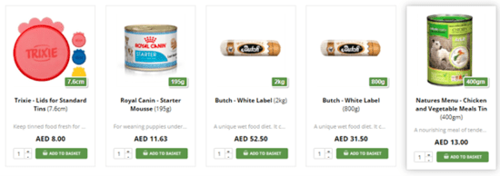 Dubai Pet Food Dog