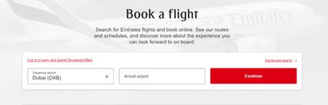 Emirates Flights Deals