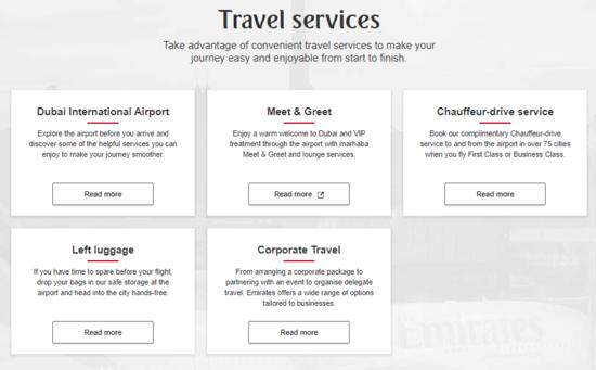 Emirates Travel