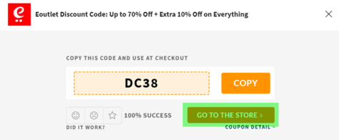 Eoutlet Coupon