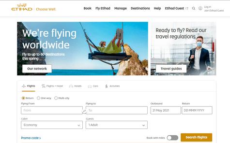 Etihad Airways UAE