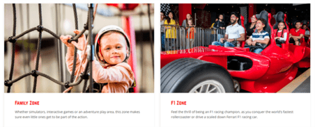 Ferrari Worlds Offers