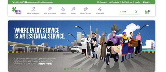 FreshtoHome UAE
