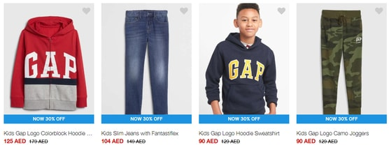GAP UAE Boys