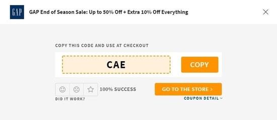 GAP UAE Code