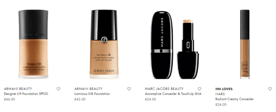 Harvey Nichols Beauty