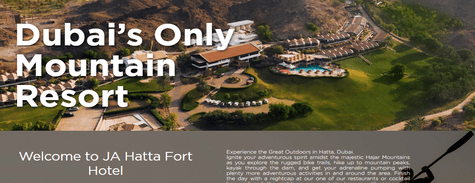 Book JA Hatta Fort Hotel Now!